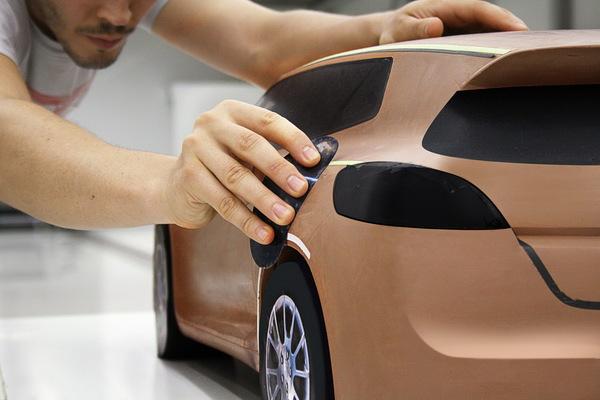 汽车手板模型 - 韦克